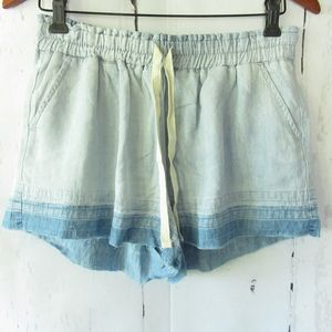 Rails Crosby Shorts Ombre Released Frayed Hem New